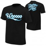 "Charlotte Flair ""Wooooo"" Authentic T-Shirt"