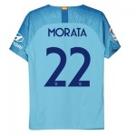 Atlético de Madrid Away Cup Stadium Shirt 2018-19 - Kids with Morata 22 printing