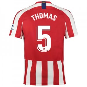 Atlético de Madrid Home Stadium Shirt 2019-20 with Thomas 5 printing