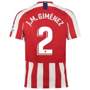 Atlético de Madrid Home Stadium Shirt 2019-20 with J.M. Giménez 2 printing