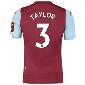 Aston Villa Home Elite Fit Shirt 2019-20 with Taylor 3 printing