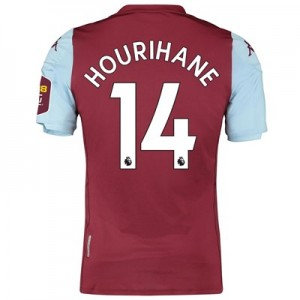 Aston Villa Home Elite Fit Shirt 2019-20 with Hourihane 14 printing