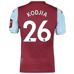 Aston Villa Home Elite Fit Shirt 2019-20 with Kodjia 26 printing
