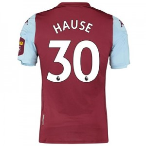 Aston Villa Home Elite Fit Shirt 2019-20 with Hause 30 printing