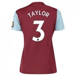 Aston Villa Home Shirt 2019-20 - Womens with Taylor 3 printing