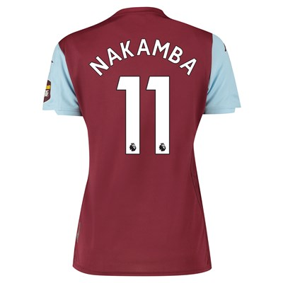 Aston Villa Home Shirt 2019-20 - Womens with Nakamba 11 printing
