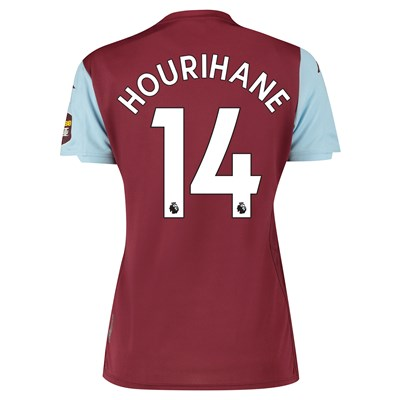 Aston Villa Home Shirt 2019-20 - Womens with Hourihane 14 printing