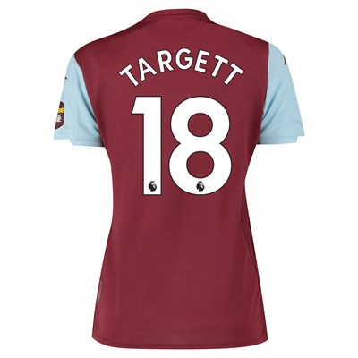 Aston Villa Home Shirt 2019-20 - Womens with Targett 18 printing