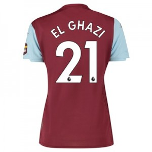 Aston Villa Home Shirt 2019-20 - Womens with El Ghazi 21 printing