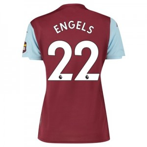 Aston Villa Home Shirt 2019-20 - Womens with Engels 22 printing