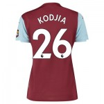 Aston Villa Home Shirt 2019-20 - Womens with Kodjia 26 printing