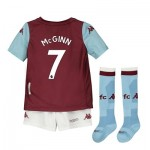 Aston Villa Home Minikit 2019-20 with McGinn 7 printing