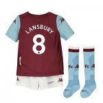 Aston Villa Home Minikit 2019-20 with Lansbury 8 printing