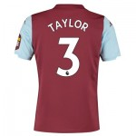 Aston Villa Home Shirt 2019-20 with Taylor 3 printing