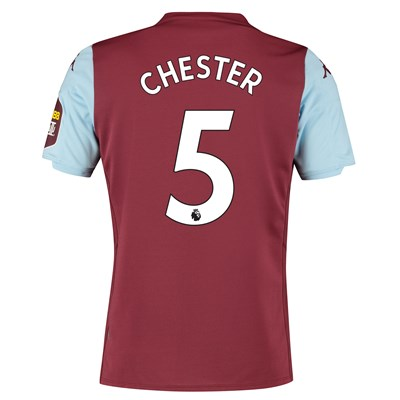 Aston Villa Home Shirt 2019-20 with Chester 5 printing