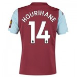 Aston Villa Home Shirt 2019-20 with Hourihane 14 printing