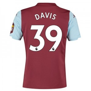 Aston Villa Home Shirt 2019-20 with Davis 39 printing