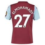 Aston Villa Home Shirt 2019-20 with Elmohamady 27 printing