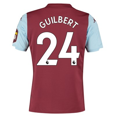 Aston Villa Home Shirt 2019-20 with Guilbert 24 printing