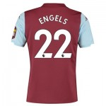 Aston Villa Home Shirt 2019-20 with Engels 22 printing