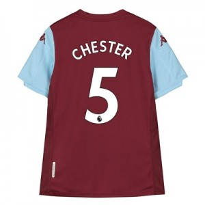 Aston Villa Home Shirt 2019-20 - Kids with Chester 5 printing