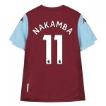 Aston Villa Home Shirt 2019-20 - Kids with Nakamba 11 printing