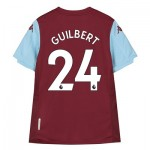Aston Villa Home Shirt 2019-20 - Kids with Guilbert 24 printing