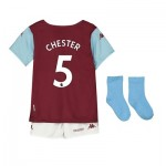 Aston Villa Home Babykit 2019-20 with Chester 5 printing