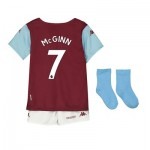 Aston Villa Home Babykit 2019-20 with McGinn 7 printing