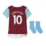 Aston Villa Home Babykit 2019-20 with Grealish 10 printing