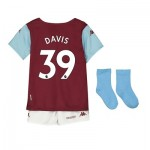 Aston Villa Home Babykit 2019-20 with Davis 39 printing