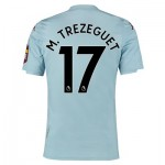 Aston Villa Away Elite Fit Shirt 2019-20 with M. Trezeguet 17 printing
