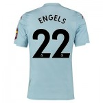 Aston Villa Away Elite Fit Shirt 2019-20 with Engels 22 printing
