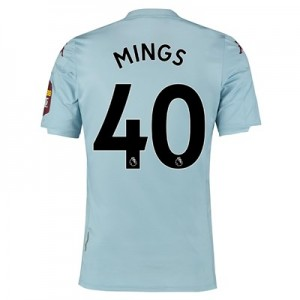 Aston Villa Away Elite Fit Shirt 2019-20 with Mings 40 printing