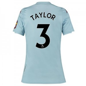 Aston Villa Away Shirt 2019-20 - Womens with Taylor 3 printing