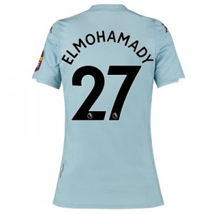 Aston Villa Away Shirt 2019-20 - Womens with Elmohamady 27 printing