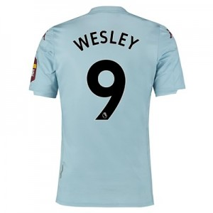 Aston Villa Away Shirt 2019-20 with Wesley 9 printing