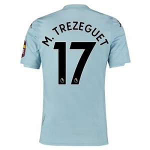 Aston Villa Away Shirt 2019-20 with M. Trezeguet 17 printing