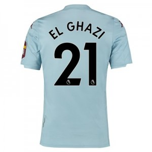Aston Villa Away Shirt 2019-20 with El Ghazi 21 printing