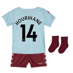 Aston Villa Away Babykit 2019-20 with Hourihane 14 printing