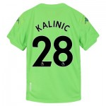 Aston Villa Third Goalkeeper Shirt 2019-20 - Kids with Kalinic 28 printing
