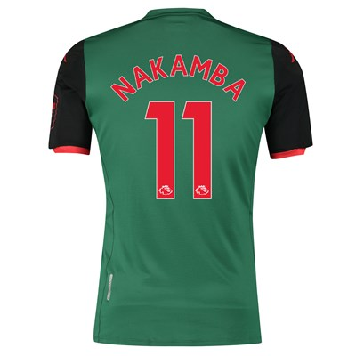 Aston Villa Third Elite Fit Shirt 2019-20 with Nakamba 11 printing
