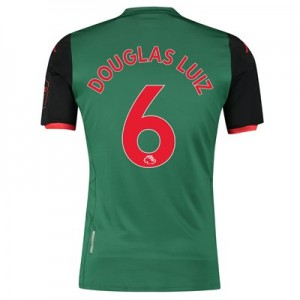 Aston Villa Third Shirt 2019-20 with Douglas Luiz 6 printing