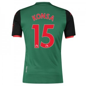 Aston Villa Third Shirt 2019-20 with Konsa 15 printing