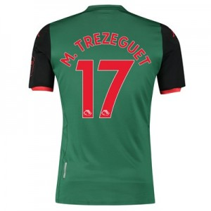 Aston Villa Third Shirt 2019-20 with M. Trezeguet 17 printing
