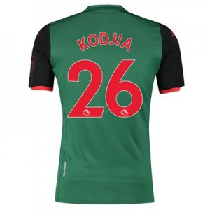 Aston Villa Third Shirt 2019-20 with Kodjia 26 printing