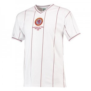 Aston Villa 1982 European Cup Final Shirt