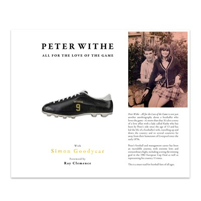 Aston Villa Peter Withe - All For The Love Of The Game Book