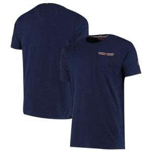 Aston Villa Iconic Pocket T Shirt - Navy - Mens