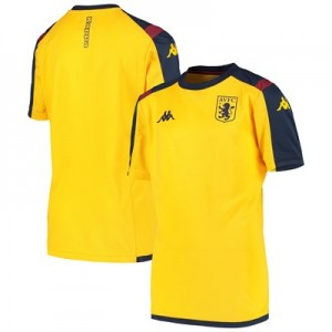 Aston Villa Training Top - Yellow - Kids